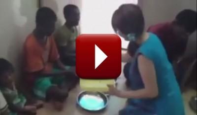 インド孤児院での支援活動②